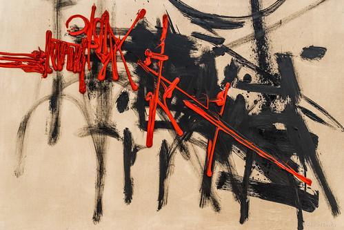 Georges Mathieu: Hommage à Charles Martel, 1956