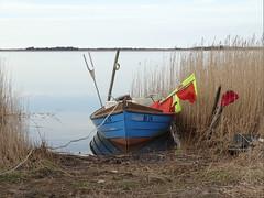 Fishing boat (Jaedde & Sis) Tags: boat fishing flags shore ringkøbing challengeyouwinner 15challengeswinner challengefactorywinner thechallengefactory challengegamewinner gamewinner