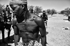 Himba Dances 3 (alisdair jones) Tags: africa men dance women dancing tribe namibia himba ef35mmf14lusm