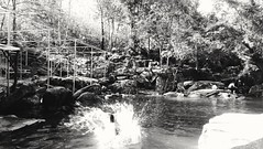 Summer splash (tangchiithanh) Tags: summer vacation blackandwhite mountain swimming river stream southeastasia vietnam inthewood