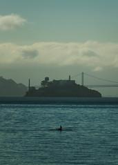 Escape from Alcatraz (Garden State Hiker) Tags: sanfrancisco california nature northerncalifornia outdoors marincounty alcatraz sanfranciscobay sausalito alcatrazisland summeroutdoors