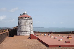 Fort Aguada Lighthouse, Goa (shannanea) Tags: fort goa aguada fortaguada