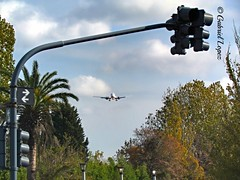 IMG_0053~2 (lopez_gab22) Tags: argentina plane arboles buenos aires landing costanera avion learjet hueco aeroparque boieng turbinas aproximacion semanforo