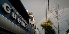 marquee & rainbow (Fer Gonzalez 2.8) Tags: leica rain rainbow mardelplata mdq optica leicadlux4 guemesstreet calleguemea opticaguemesmdp