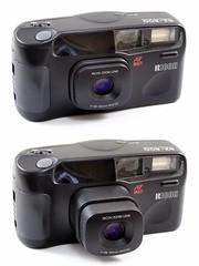 Ricoh, RZ-800 (TaIwan, 1991) (Cletus Awreetus) Tags: camera vintage lens zoom ricoh compact objectif riken appareilphotographique rz800