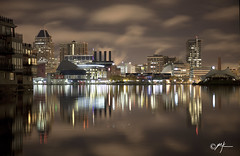 Inner Harbor- Baltimore, MD (Mike Keller Photo) Tags: skyline baltimore innerharbor charmcity