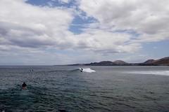 Surfers (simonturkas) Tags: lanzarote canaryislands ocean beautiful spain travel wanderlust adventure photography photo photographersoftumblr photographersontumblr