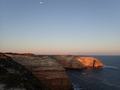 the outcrop (Carl Fakaruddin) Tags: sunset cliff lighthouse beach rock australia geology southaustralia