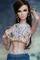Wouldn't it be loverly? Eden (YOKO*DOLLS) Tags: model barbie eden fr lilith rupaul silkstone jasonwu fashionroyalty nuface