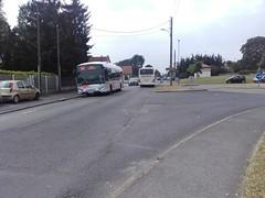 Lacroix rseau Valoise Heuliez GX 337 hyb DZ-939-TC (95) n1017 & Setra S 415 UL BM-752-SL (95) n849 (couvrat.sylvain) Tags: bus cars car s autobus ul 337 lacroix beauchamp 417 setra autocar gx heuliez hybride heuliezbus valoise s417ul gx337