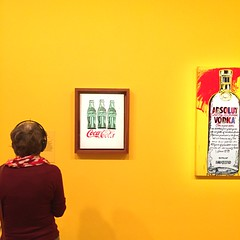 """people need to be made more aware of the need to work at learning how to live because life is so quick and sometimes it goes away too quickly.""  andy warhol (idontkaren) Tags: show art museum australia melbourne exhibit exhibition galleries andywarhol ngv 2016 nationalgalleryofvictoria aiweiwei"