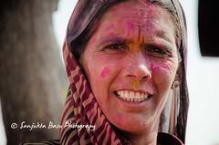Barsana Nandgaon Lathmar Holi Low res (13 of 136) (Sanjukta Basu) Tags: holi festivalofcolour india lathmarholi barsana nandgaon radhakrishna colours ruralwomen indianwomen ruralindianwomen marginalized gender strongwoman