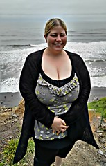 The coast of Olympic national park. Beach 4, north of Kalaloch. (Triple X ) Tags: beach smile bbw clevage busty kalaloch