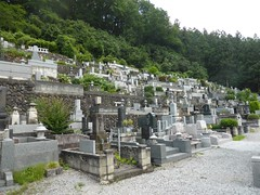 Cemetary at Temple 12 (Stop carbon pollution) Tags: flickr japan  saitamaken  chichibu  34kannonpilgrimage  cemetary