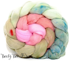 Flower Bed (beesybee) Tags: wool felting spinning needlefelting etsy supplies roving updates rambouillet handdyed woolroving spinningwool handdyedwool combedtop handdyedroving domesticwool woolbraids handpaintedwool spinningsupplies rambouilletwool woolpictures beautifulwoolpictures rambouillettop