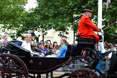 Wessex Ladies (dhcomet) Tags: london james carriage sophie royal parade edward louise earl themall wessex countess pageantry troopingthecolour