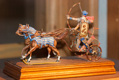Charioteers (quinet) Tags: panorama germany flats char chariot 2012 jouets kulmbach spielwaren castleroad streitwagen burgenstrase plassenburgcastle plassenburgzinnfigurenmuseum