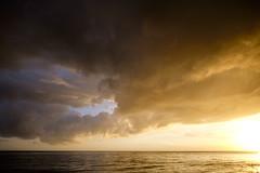 Sunset at sea (Wouter de Bruijn) Tags: ocean sunset sea sky sun seascape nature water night clouds landscape evening outdoor dusk fujifilm skyporn xt1 fujinonxf14mmf28r