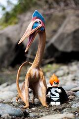 Oh Syndrome... (Chris Blakeley) Tags: toys lego dinosaur disney syndrome theincredibles pterosaur minifigures toyphotography legodisney