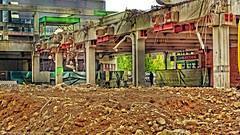 Demolition work on the parking deck /Abrissarbeiten am Parkdeck Globus in Lahnstein (Ranger56112) Tags: germany deutschland outdoor landschaft rheinland rhineland bauarbeiten lahnstein rheinlandpfalz globus parkdeck buildingwork rhinelandpalatinate parkinglevel demolitionwork abrissarbeiten parkimgdeck
