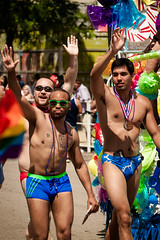 Chicago Gay Pride Parade 2016 (Chicago_Tim) Tags: gay shirtless usa chicago sexy guy lesbian costume illinois colorful underwear pride parade celebration lgbt swimmer speedo trans swimsuit queer boystown 2016