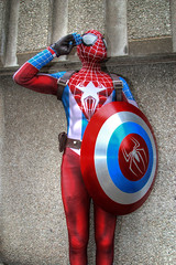 Wycombe Comic Con 2016 IV (Lee Nichols) Tags: costumes photoshop costume cosplay spiderman comiccon hdr highdynamicrange cosplayers photomatix tonemapped tonemapping handheldhdr canoneos600d wycombecomiccon2016