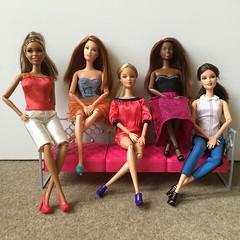 The Power of 5.... (Gavapillar) Tags: kara nikki barbie drew teresa barbiefashionfever barbiestyle barbiesoinstyle