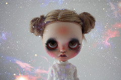 From a galaxy far far away.. (the Northlings) Tags: girl lost star doll daughter galaxy darth blythe wars vader custom