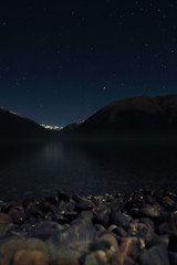 Lake Rotoiti Moonlit (south*swell) Tags: longexposure newzealand lake nature night dark landscape star nelson lakerotoiti nelsonlakes rotoiti starscape starnaud