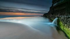 Breaking point  [ explore 21|06|2016 ] (marcolemos71) Tags: longexposure sea seascape portugal water clouds sand sintra atlanticocean azenhasdomar