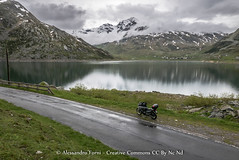 The sun does not need (Alex - Born To Be Free) Tags: panorama mountain lake rain clouds landscape lago landscapes panoramic moto motorcycle paesaggi paesaggio panoramico borntobefree motociclette landscapelake landscapemountain motorcycletravel viaggioperimmagini