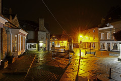 Much Wenlock, Shropshire 24/03/2016 (Gary S. Crutchley) Tags: street uk travel england night dark ed evening town nikon long exposure raw shropshire nightscape shot nightshot image time market britain united great kingdom s after much nightphoto af nikkor wenlock d800 1635mm nightimage nightphotograph f40g