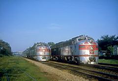 CB&Q E8 9973 (Chuck Zeiler) Tags: railroad burlington train zephyr naperville e9 e8 dinky chz emd cbq 9973 9992