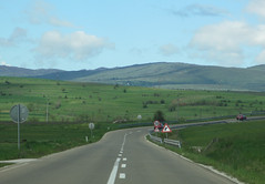 Highway curve and mountain view, Peter highland, Serbia (Paul McClure DC) Tags: scenery serbia balkans srbija zlatibor peter may2016