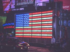 Times Square, New York, New York State, United States of America. (digitalreflections) Tags: street city newyorkcity sky people usa newyork motion tower car shop horizontal skyline architecture modern night skyscraper outdoors photography lights downtown neon traffic unitedstates bright taxi text unitedstatesofamerica citylife nopeople illuminated billboard communication american transportation timessquare northamerica glowing newyorkstate headlight highstreet manhatten development onthemove taillight lighttrail worldfamous travelphotography digitalsignage traveldestinations famousplace buildingexterior internationallandmark largegroupofpeople colourimage manhattannewyorkcity consumerproduct commercialsign unitedstatesofamericaamerica timessquaremanhattan westernscript newyorkstatenewyork