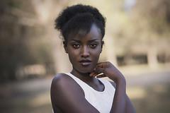 Portrait of Acha (Tania Cervin) Tags: black girl model skin seleccionar