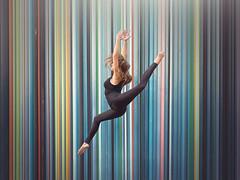 (dimitryroulland) Tags: street city light urban paris art dance jump nikon natural 85mm dancer gymnast gymnastics 18 gym performer rhythmic d600 dimitry roulland