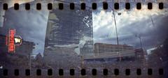 320 CineStill800T 14P (insteadofdropbox) Tags: wtf film sprocketrocket cinestill doubleexposure hooters