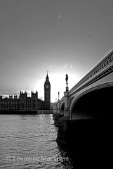 WestminsterBridge 352 E W BW (laurencemackman) Tags: uk london westminster thames facade river riverside gothic housesofparliament parliament government perpendicular houseoflords palaceofwestminster houseofcommons charlesbarry cityofwestminster augustuspugin