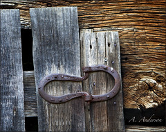 Of Hinges and Horseshoes (A Anderson Photography, over 1 million views) Tags: travel tennessee oldbuilding oldbarn touristsites horeshoes countrybackroads oldhinges tennesseesmokeymountains