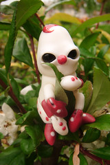 Croustille la Chenille 08 (The Maman Panda) Tags: cute doll artist ooak clown caterpillar resin poupe tendres chimeres