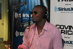 NFL star Plaxico Burress on the Covino & Rich Show (covinoandrich) Tags: show radio football satellite nfl rich steelers pittsburg plaxico burress siriusxm covino