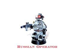 Russian Operator (Black Sun Customs) Tags: sun black soldier future russian