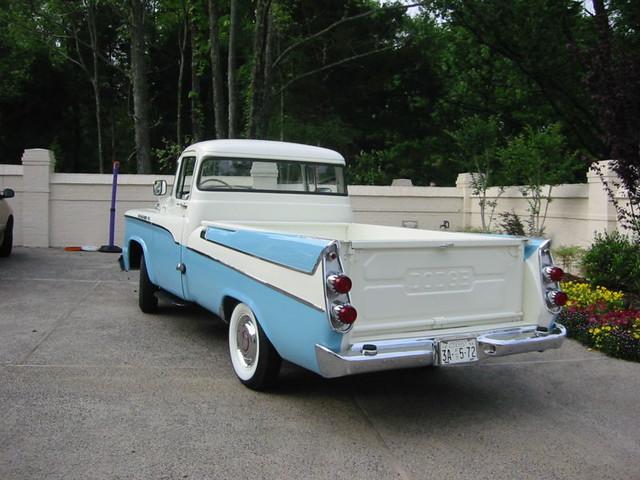 pickup 1958 dodge d100 sweptside