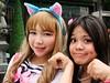 Catgirls (yusuf ks) Tags: festival japan tokyo little cosplay jakarta nippon matsuri catgirl jepang nekomimi blokm 2013 melawai ennichisai