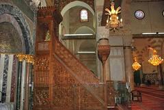 La chaire de Salah al Din (MUQADDASI) Tags: old city architecture muslim islam jerusalem mosque arabic quarter islamic palestinian   aqsa quds   silwan                qouds  palestine