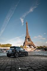 MINI GP & Eiffel Tower (Sotha Ith | Photography) Tags: sky paris tower automobile tour mini automotive eiffel ciel cooper works gp jcw