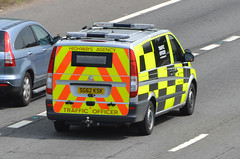 SG62KSK (Emergency_Vehicles) Tags: june mercedes highway traffic m1 leicestershire agency veto ksk officers 2013 sg62 sg62ksk