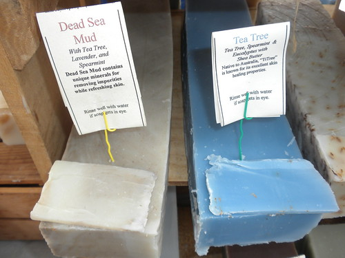 soap, with mandatory warning