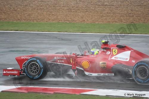 Felipe Massa in Free Practice 1 for the 2013 British Grand Prix